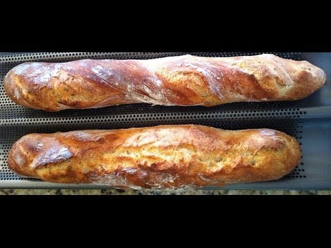 Comment faire ses baguettes maison youtube for Baguette de pain maison