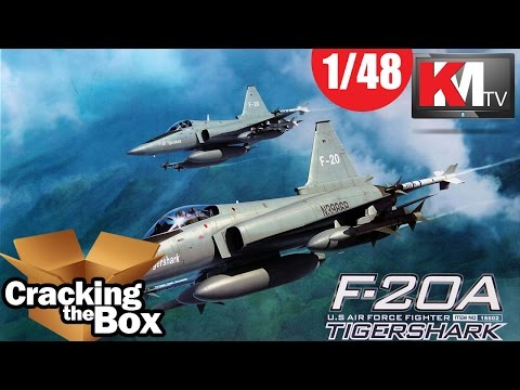 Freedom Model Kit's 1/48 F-20A Tigershark