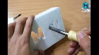 How to make a Plastic & Foam Cutter || DIY ||