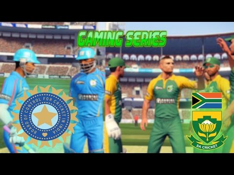 """GAMING SERIES"" SOUTH AFRICA TOUR INDIA 2015 - 1ST ODI"