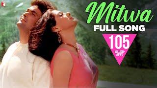 Mitwa - Full Song | Chandni | Rishi Kapoor, Sridevi | Lata Mangeshkar, Babla Mehta | Anand Bakshi