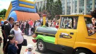 Грандиозный детский праздник в Кишиневе к Международному дню детей!