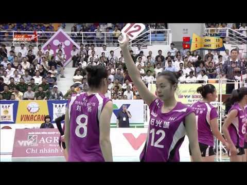 [ Cup VTV Bình Điền 2015 ] - Ngân hàng Công thương vs Phúc Kiến China, (26/03/2015) Full HD