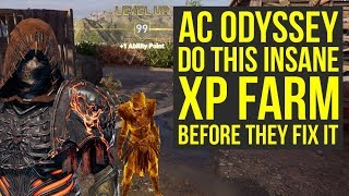Assassin's Creed Odyssey Level Up Fast With This New INSANE TACTIC (AC Odyssey level up fast)