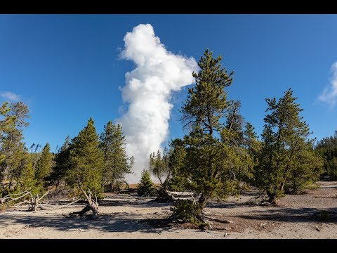 Minute Out In It: Steamboat Geyser Eruption September 17, 2018