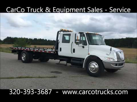 2007 INTERNATIONAL CENTURY ROLLBACK TOW TRUCK FOR SALE