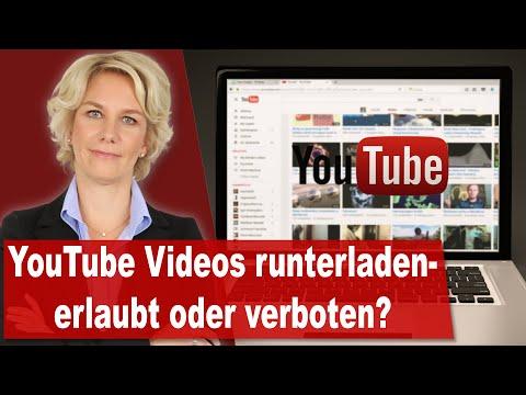 YouTube-Videos runterladen: Erlaubt oder verboten? Alle Facts!