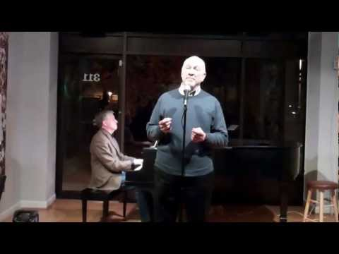 "Chuck Lavazzi Sings Tom Lehrer's ""I Hold Your Hand In Mine"" At The Cabaret Project Open Mic Night"