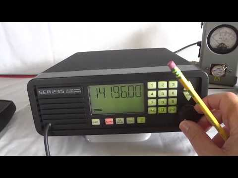 SEA 235 HF SSB marine & ham radio with IF DSP and DDS