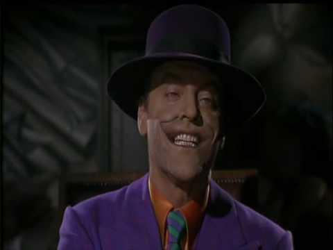 """Batman (1989) - """"Hai mai sentito dire che la risata ha un potere terapeutico?"""""""