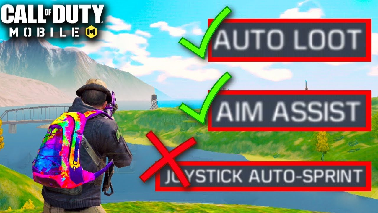 BEST SETTINGS FOR BATTLE ROYALE | Call of Duty Mobile