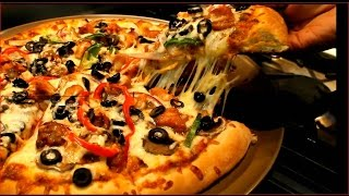 How To Make Spicy Homemade Pizza -video Recipe