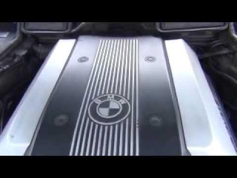 Bmw 7 Series M62 Engine Walk Around And Jump Terminal Location Youtube