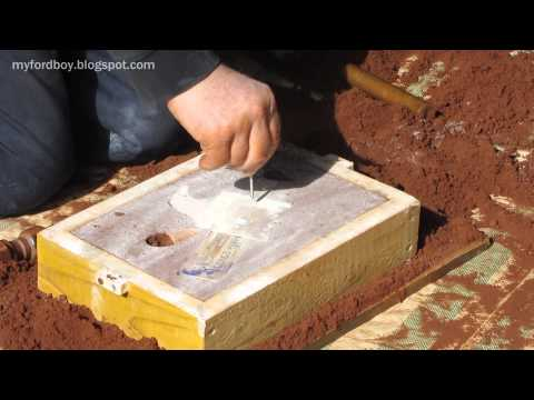 Metal Casting at Home Part 39, Cylinder Casting with Core