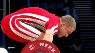 RYBAKOV Andrei 1s 175 kg cat. 85 World Weightlifting Championship 2013