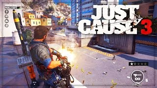 Just Cause 3 - Gameplay Freeroam Funny Moments ! (Just Cause 3 PC Gameplay)