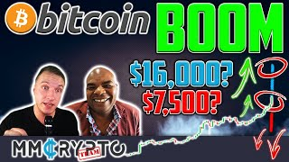 DavinciJ15 - Bitcoin BREAKOUT & PLUNGE! $16'000 or $7'500? WHEN ALTS?