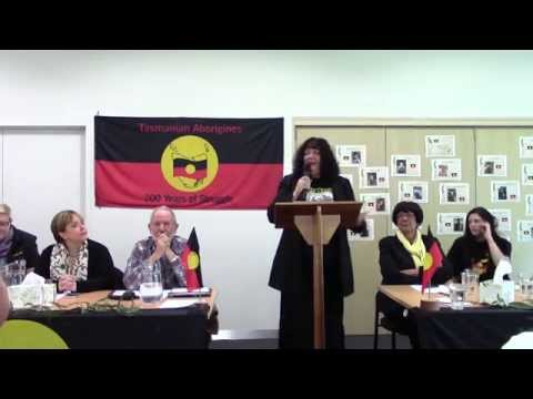 Save our Aboriginal Legal Service. Press statements at a community meeting in Hobart, Tasmania