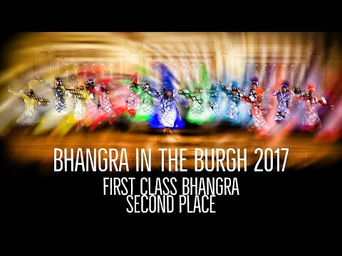 First Class Bhangra – Second Place – Bhangra in the Burgh 2017