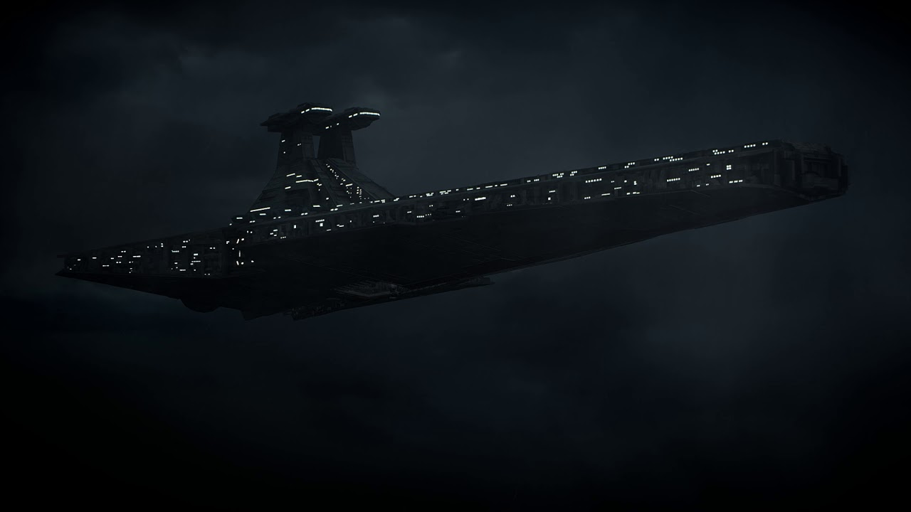Venator Star Destroyer Star Wars Live Wallpaper Youtube