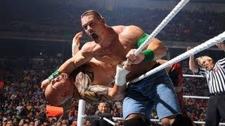 John Cena vs. Tensai: Raw, June 4, 2012