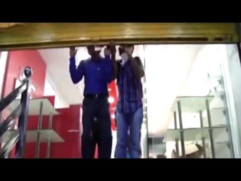 Watch | I-T raid at Surat's financer Kishore Bhajiawala's premises