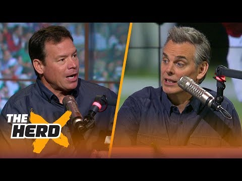 Jim Mora talks college football recruiting, Rosen vs Darnold and more | THE HERD