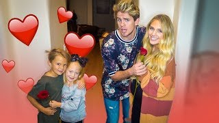 Taking Mini Cole and Sav on Hilarious Double Date!!! (Secret Crush Revealed...)