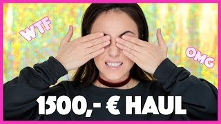 1500€ Beauty Haul 2017 deutsch | OMG bin ich verrückt??? 💶💶💶 | Hatice Schmidt