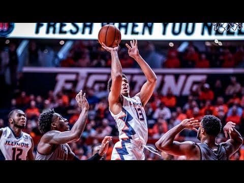 Illinois Men's Basketball Highlights vs. Austin Peay 12/6/17