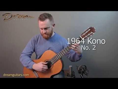 1964 Masaru Kono No. 2 Classical, Rosewood/Spruce