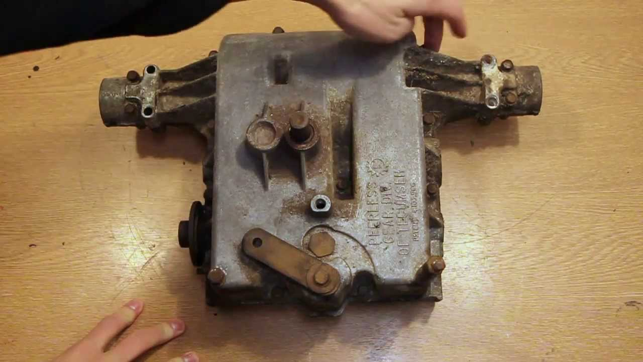 small resolution of peerless 832 transaxle inspection and opening tecumseh gearbox