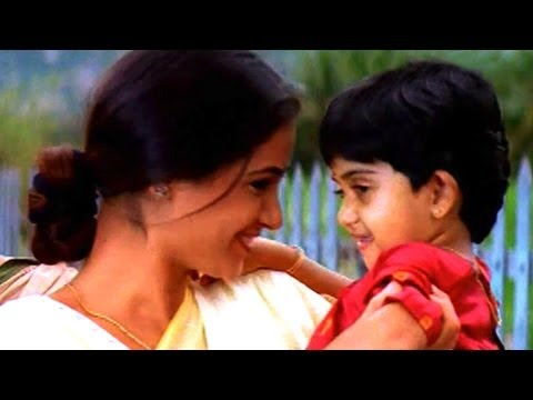 Mrugaraju Scene - Aishwaraya Daughter Akhila Came To The Adavipalle - Chiranjeevi,Simran (HD)