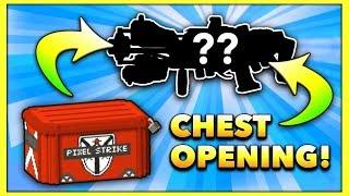 MASSIVE CASE OPENING!! (Pixel Strike 3D Case Opening + Gameplay)