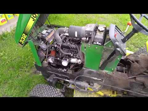 HE LIVES! Vin Diesel Is Back in the Saddle Again  John Deere 332 Diesel Repair  YouTube