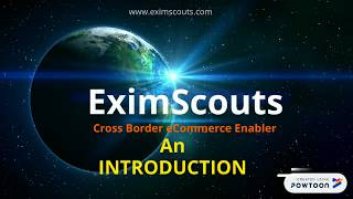 EximScouts | An Introduction - Cross Border eCommerce | Sell Online to 50+ Countries from India