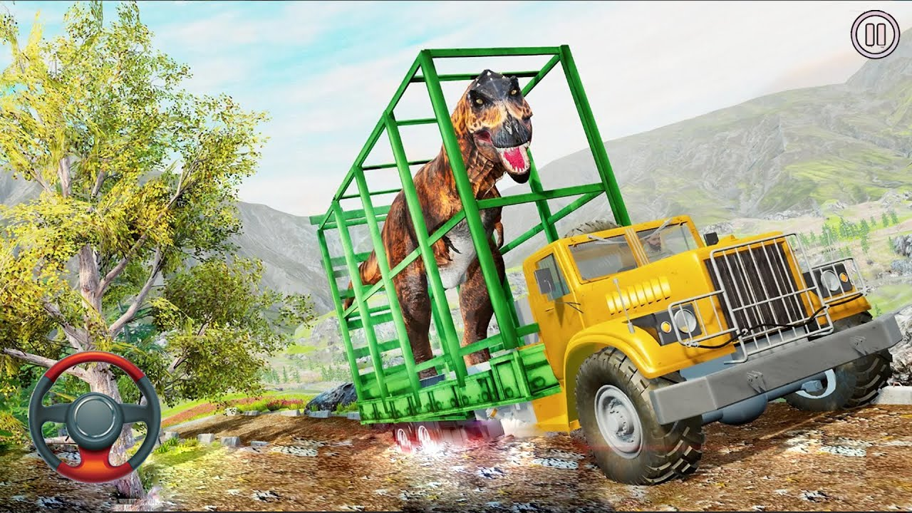 Dinosaur Truck Transport Simulator | Best Android Gameplay