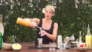 Summer Cocktails: How To Make A Tanqueray 10 Citrus Punch | Pottery Barn