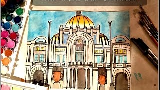 Palacio de Bellas Artes | Speed Drawing/Cámara Rápida | Still Creating