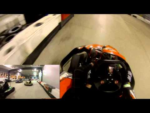 GoPro: GoKart Racing At Unser Racing Denver, Colorado 1.10.2013