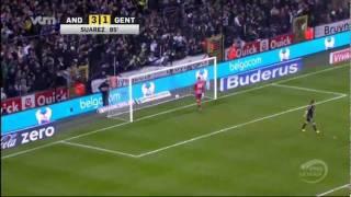 RSC Anderlecht - KAA Gent 3-1 (24/01/2012)