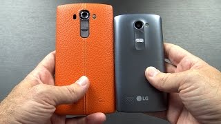 lG Leon LTE H340N Unboxing and First Impressions