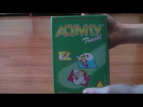 Настольные игры. Походная игра ACTIVITY Trevel.