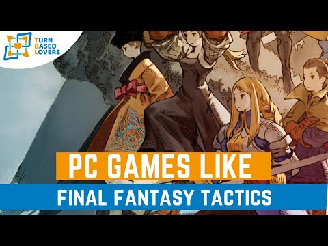 Pc Games Like Final Fantasy Tactics
