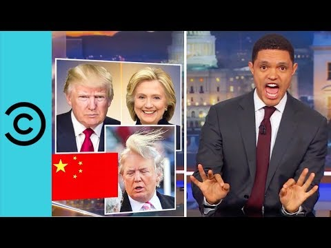 Trump's Big Day Out In China | The Daily Show