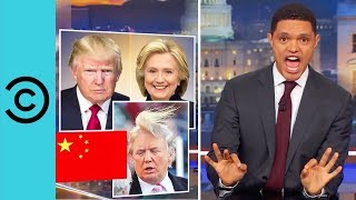 Trump's Big Day Out In China   The Daily Show
