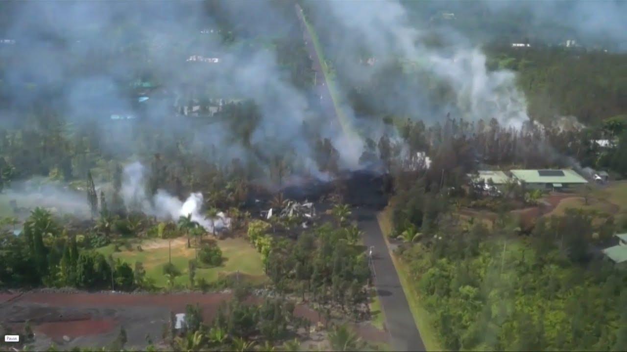 Earthquakes, lava fissures put Hawaii's Big Island on high alert