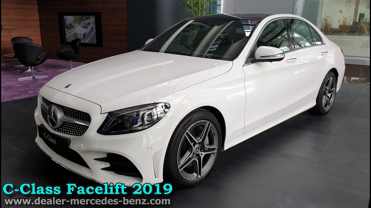 Mercedes Benz C Class Facelift 2019 C300 Amg Fl Indonesia Exterior