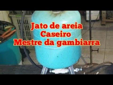 Download Jato de areia caseiro passo a passo