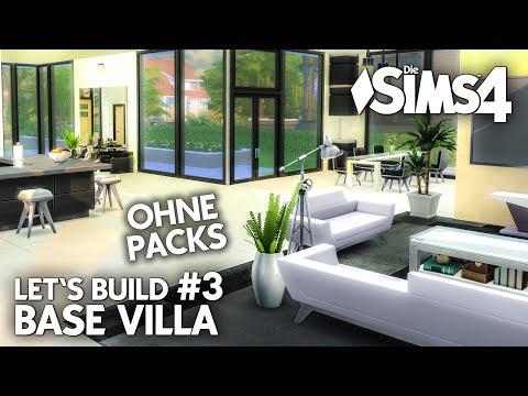 Die sims 4 haus bauen ohne packs base villa 2 k che - Sims 4 dach bauen ...